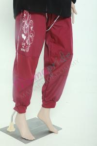 seluar bersalin mamapride maroon 2