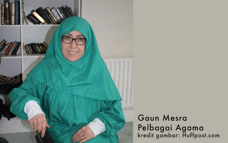 Gaun Khas Untuk Pesakit Muslim Di UK. Sangat Menarik!
