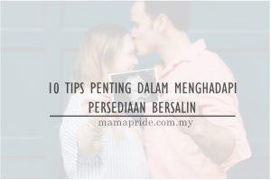 10 tips persediaan bersalin